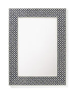 Portland Bone Inlay Mirror, Blue