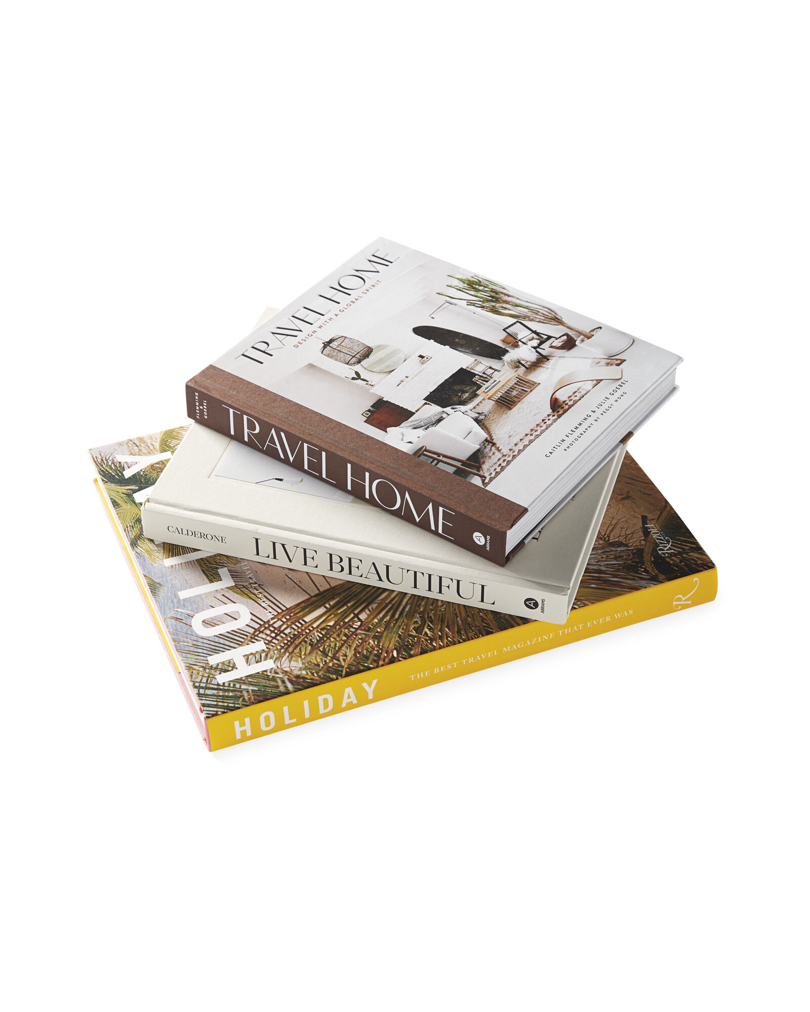 Coffee Table Books (Set of 3)