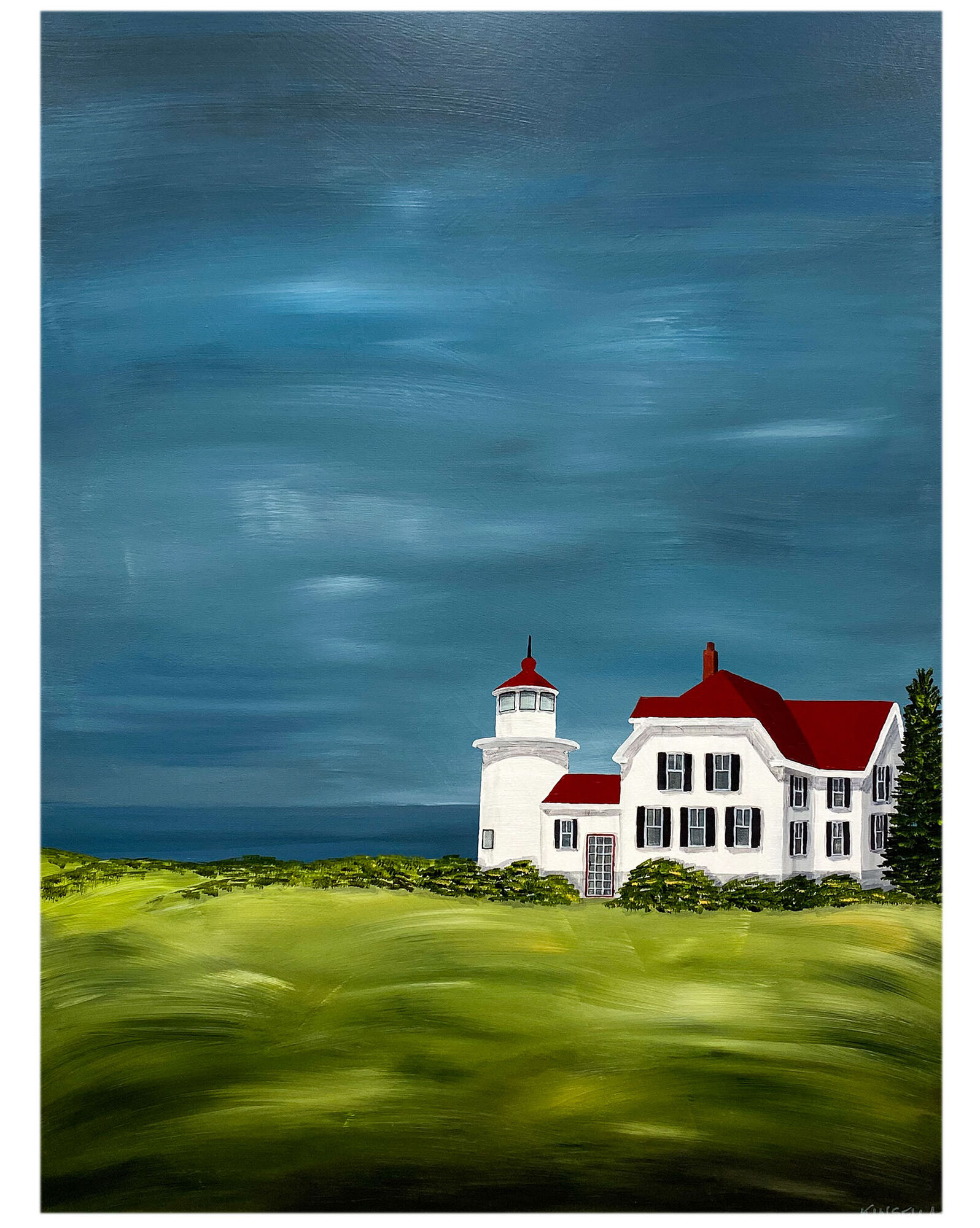 """""""The Lighthouse"""" by Susan Kinsella,"""