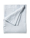 Almonte Quilt, Blue Chambray/White