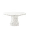 Faux Bois Dining Table,