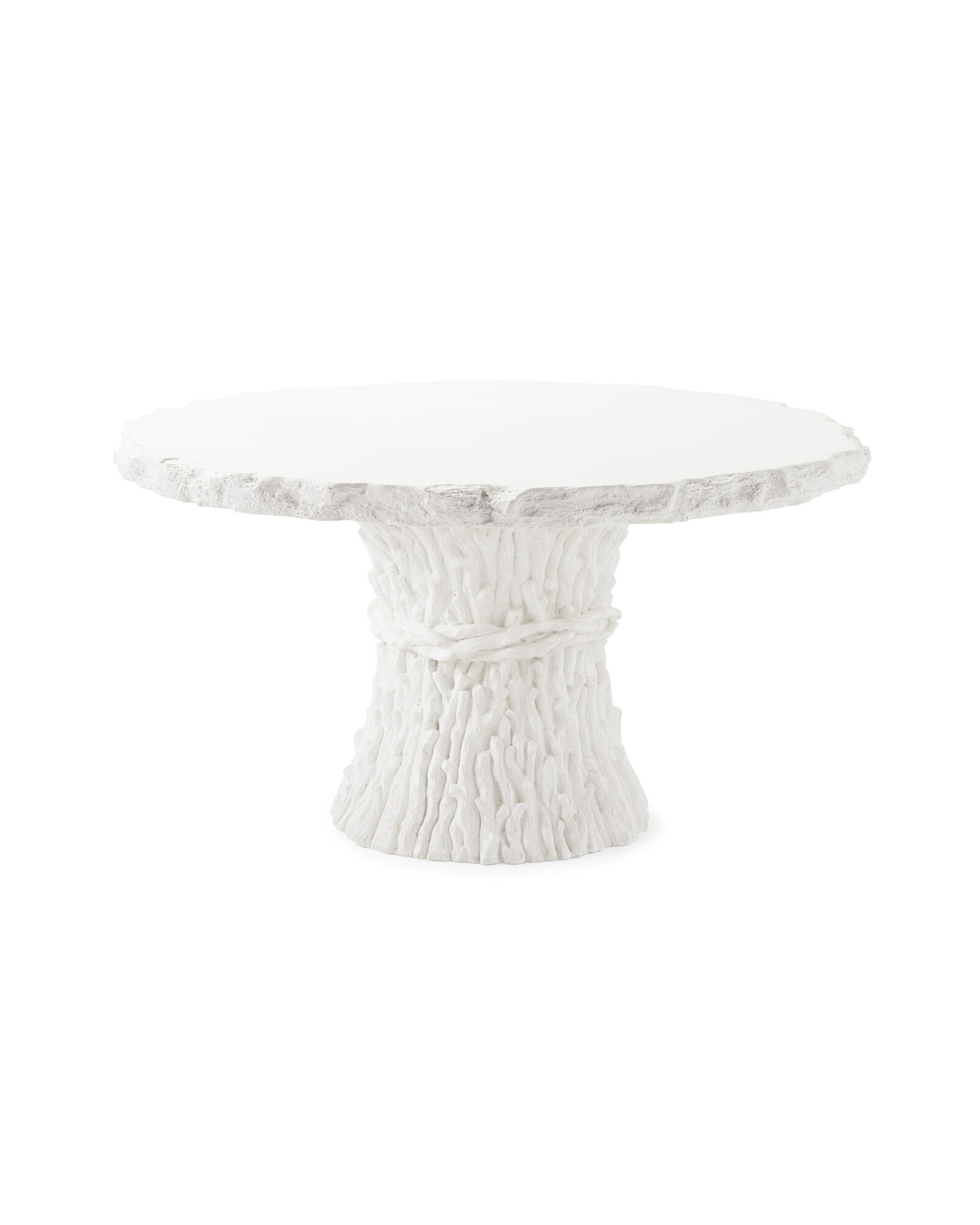 Faux Bois Dining Table