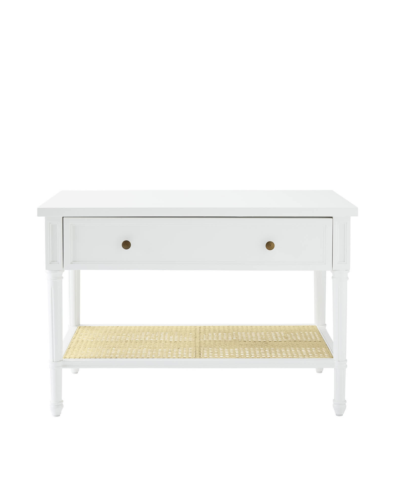 Harbour Cane Wide Nightstand