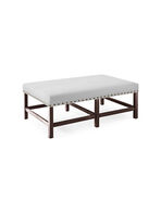Small Clement Bench with Nailheads,