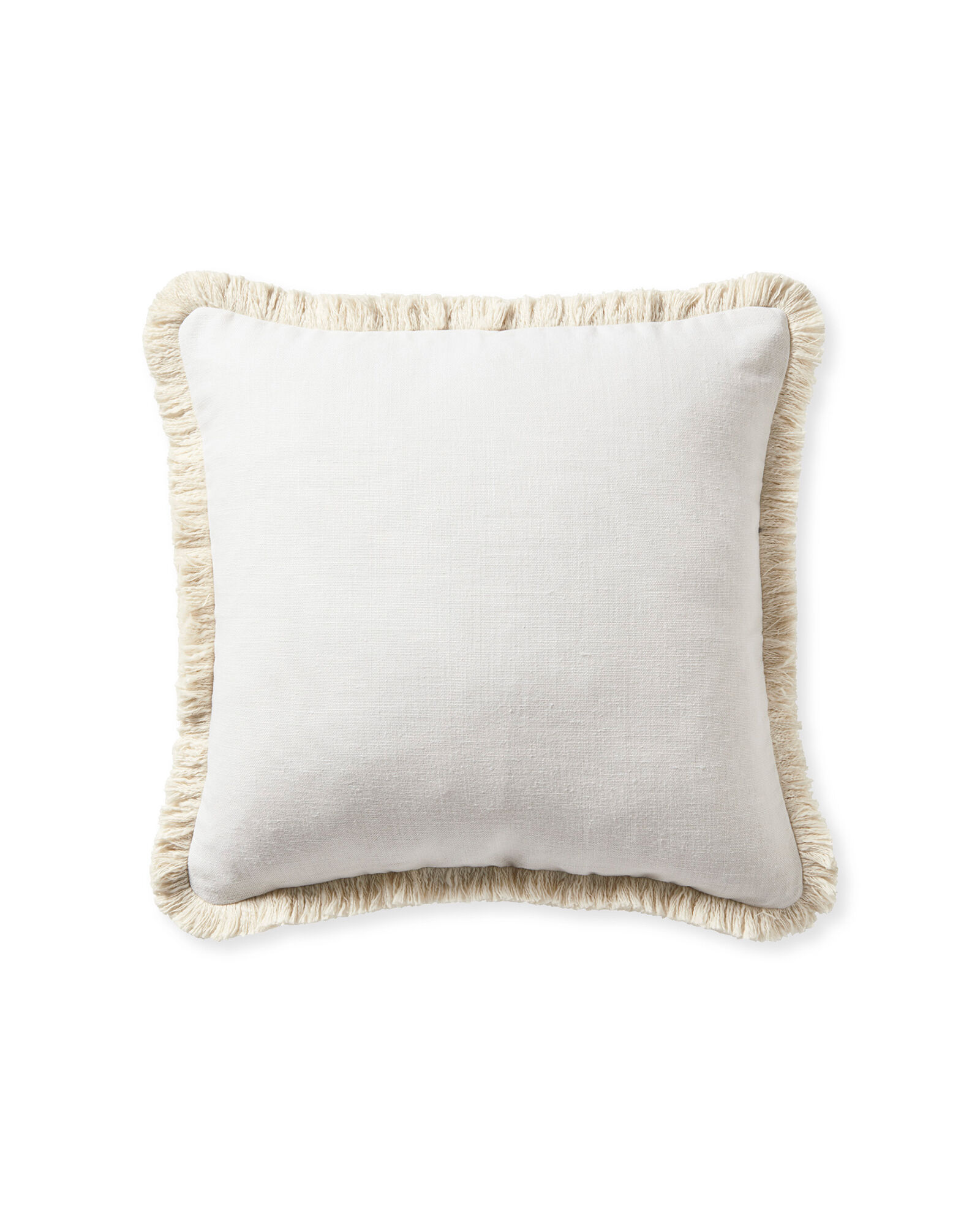 Bowden Pillow Cover, White