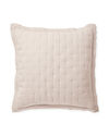 Sutter Quilted Shams, Pink Sand