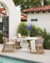 Capistrano Outdoor Dining Chair - Dune,