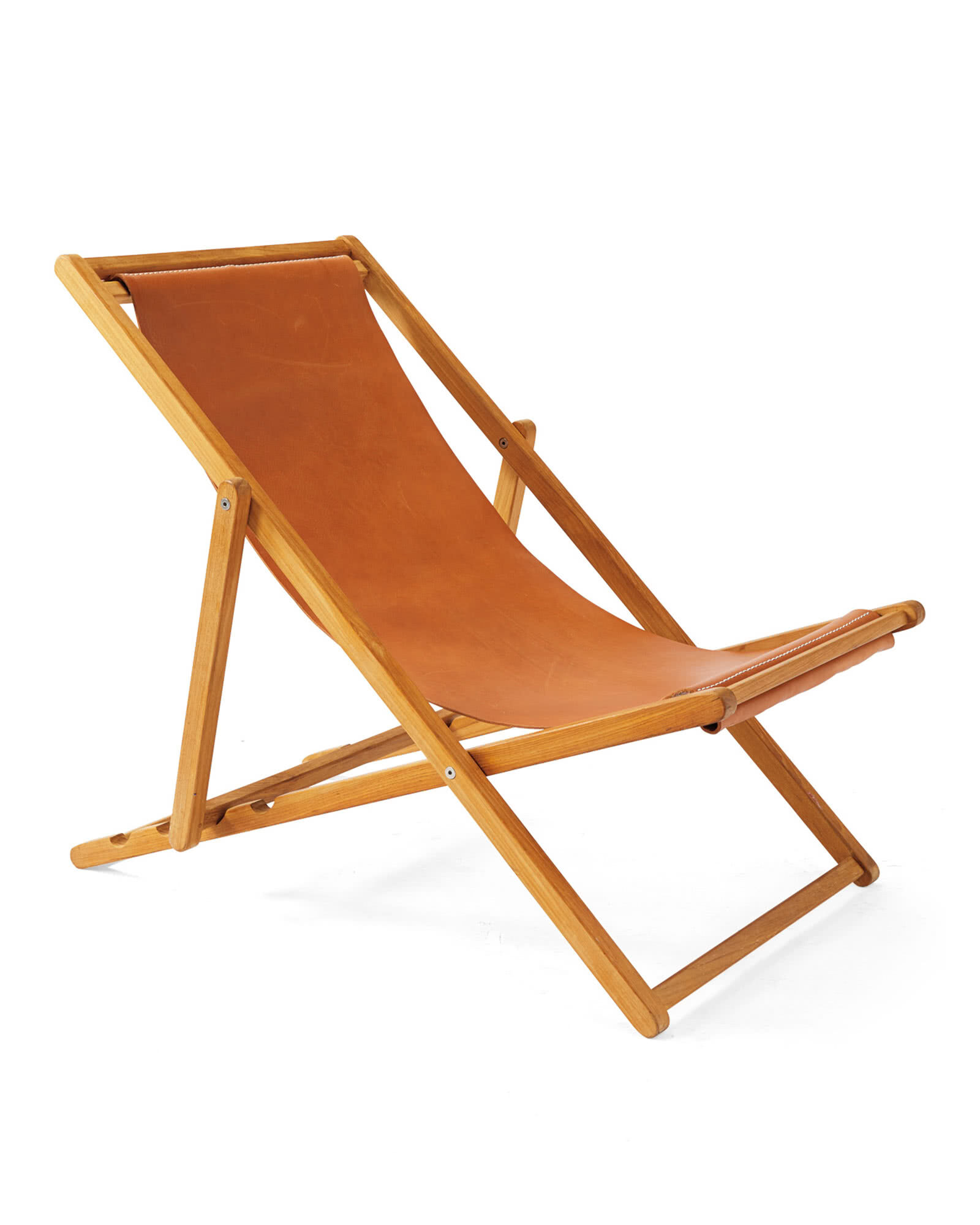 Leather Sling Chair,