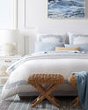 Carlyle Coverlet, French Blue