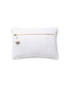 Hawthorne Pillow Cover, Ivory/White