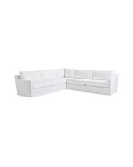 Summit Slipcovered L-Sectional - Right-Facing,