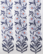 Millwood Bedding Swatch, Navy