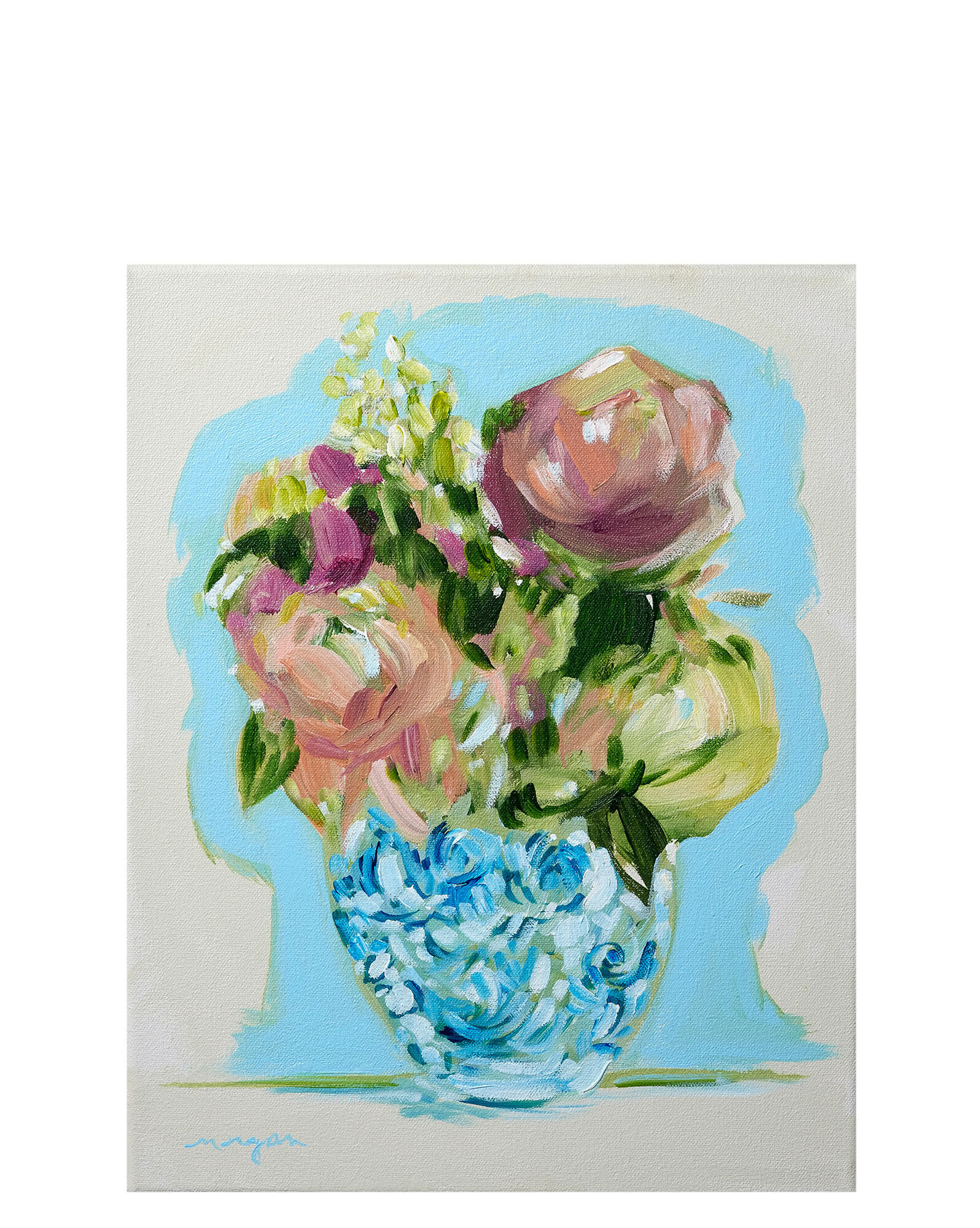 """""""You Can Always Have Flowers on the Table 11"""" by Morgan Jones Johnston,"""