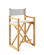 Director's Counter Stool, Platinum Canvas