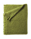 Albion Mohair Throw, Chartreuse