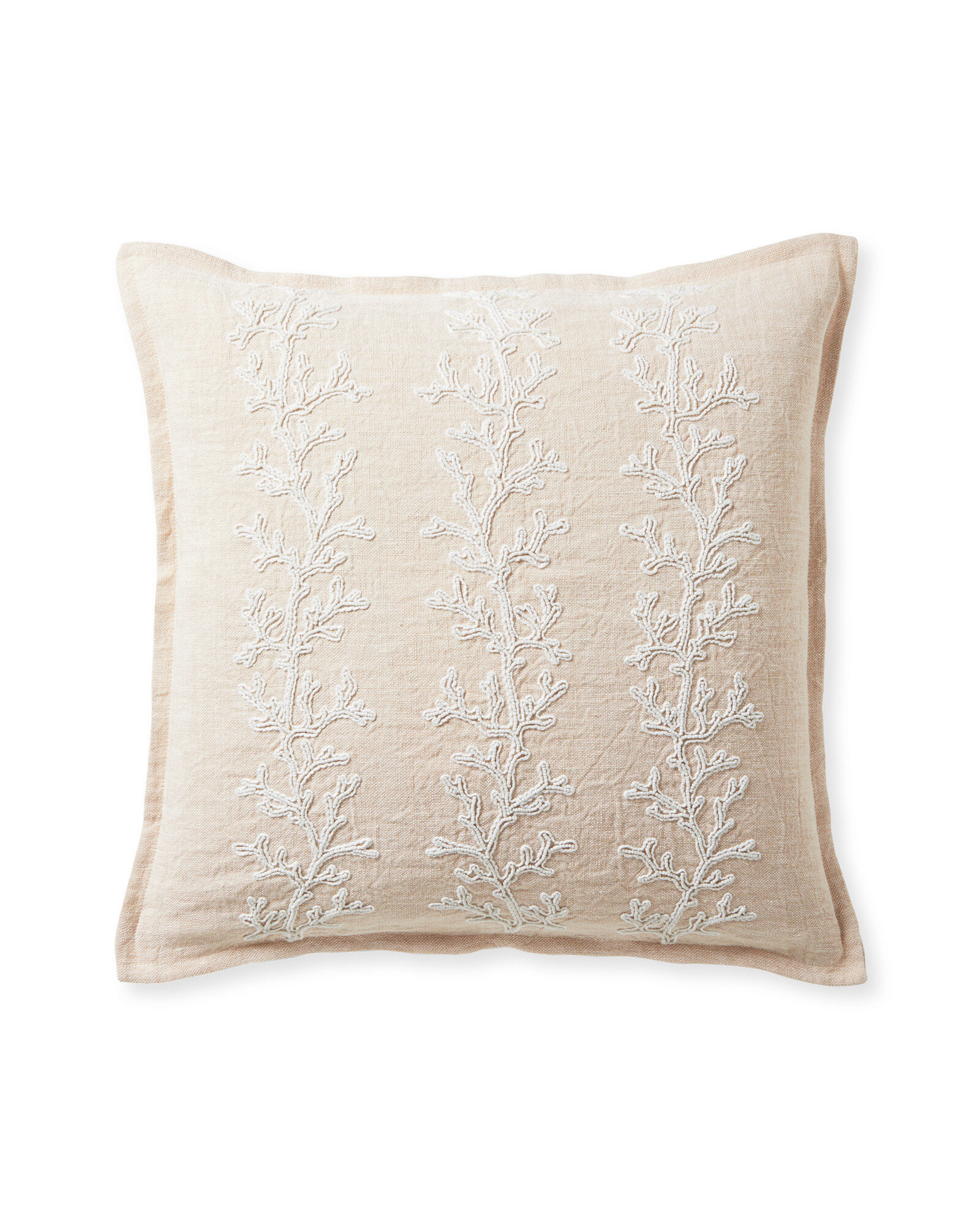 Beach Bay Pillow Cover, Pink Sand