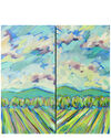 "Show Me the Way - Diptych"" by Lindsey Winfrey,"
