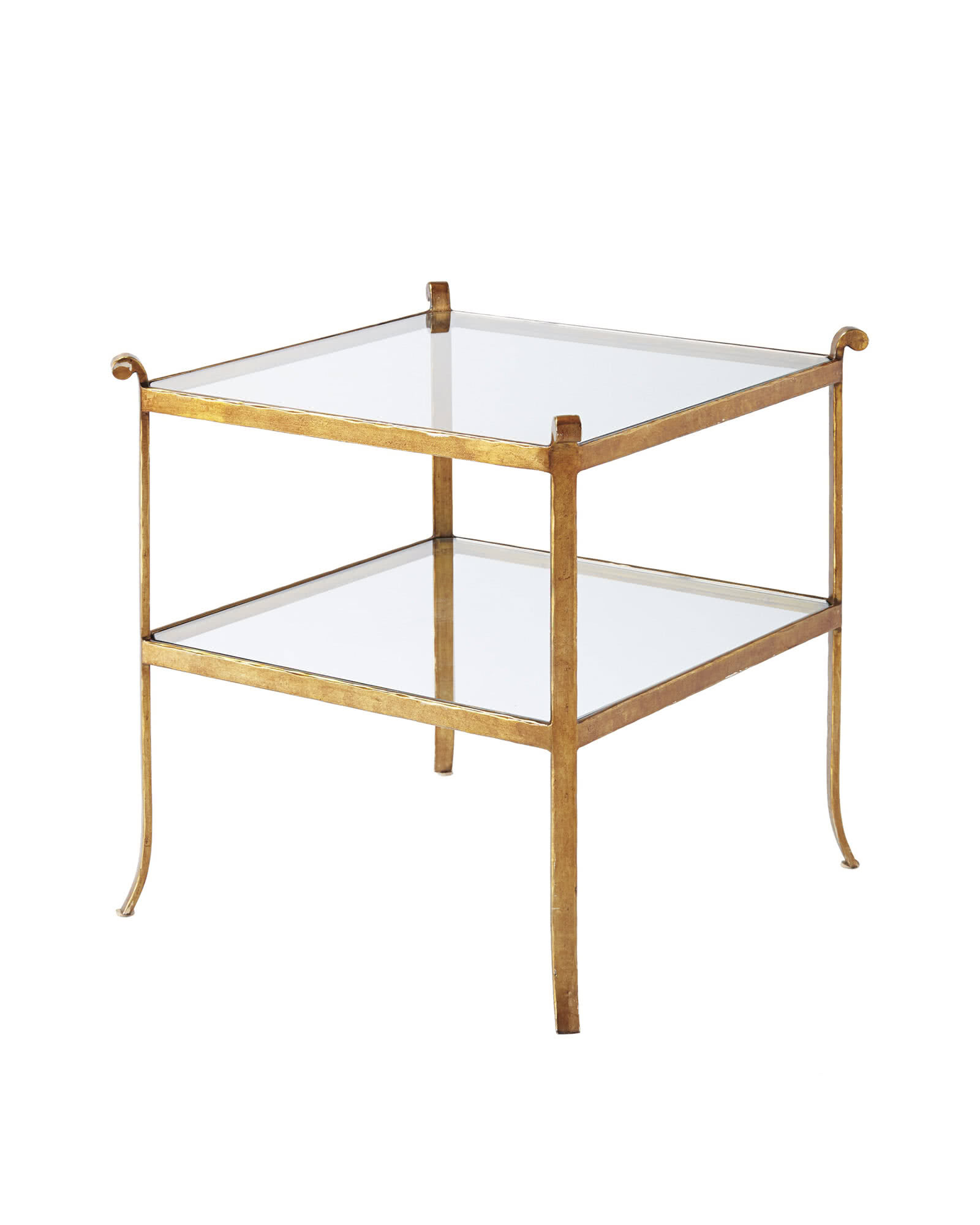 St. Germain Glass Side Table
