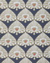 Palmetto Wallpaper, Inkwell Blue/Khaki