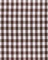 Fabric by the Yard - Classic Gingham Linen, Earth