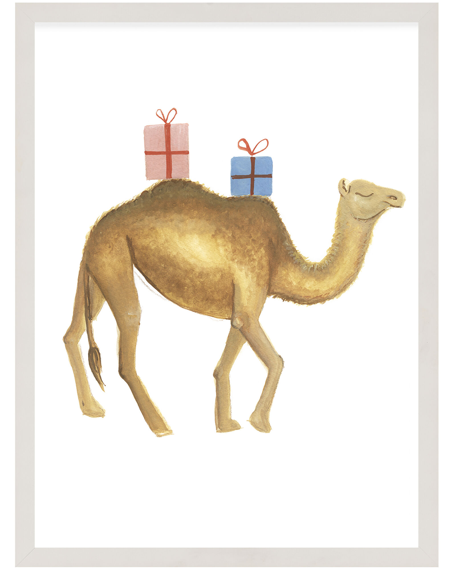 """""""Party Animals - Camel"""" by Fours Are Yellow,"""