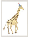 """""""Party Animals - Giraffe"""" by Fours Are Yellow,"""