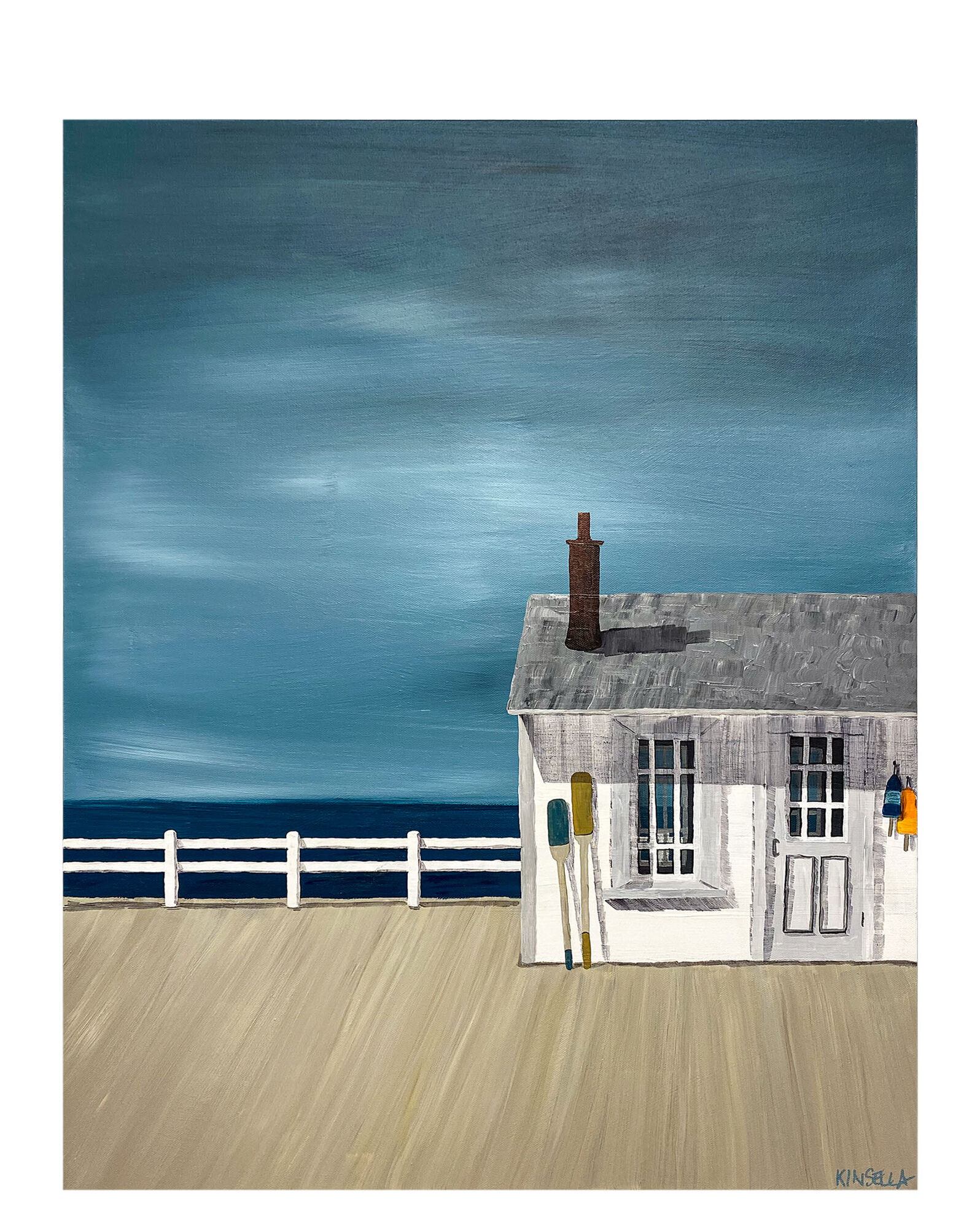 """""""On the Wharf"""" by Susan Kinsella,"""