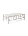 Trestle Outdoor Coffee Table,