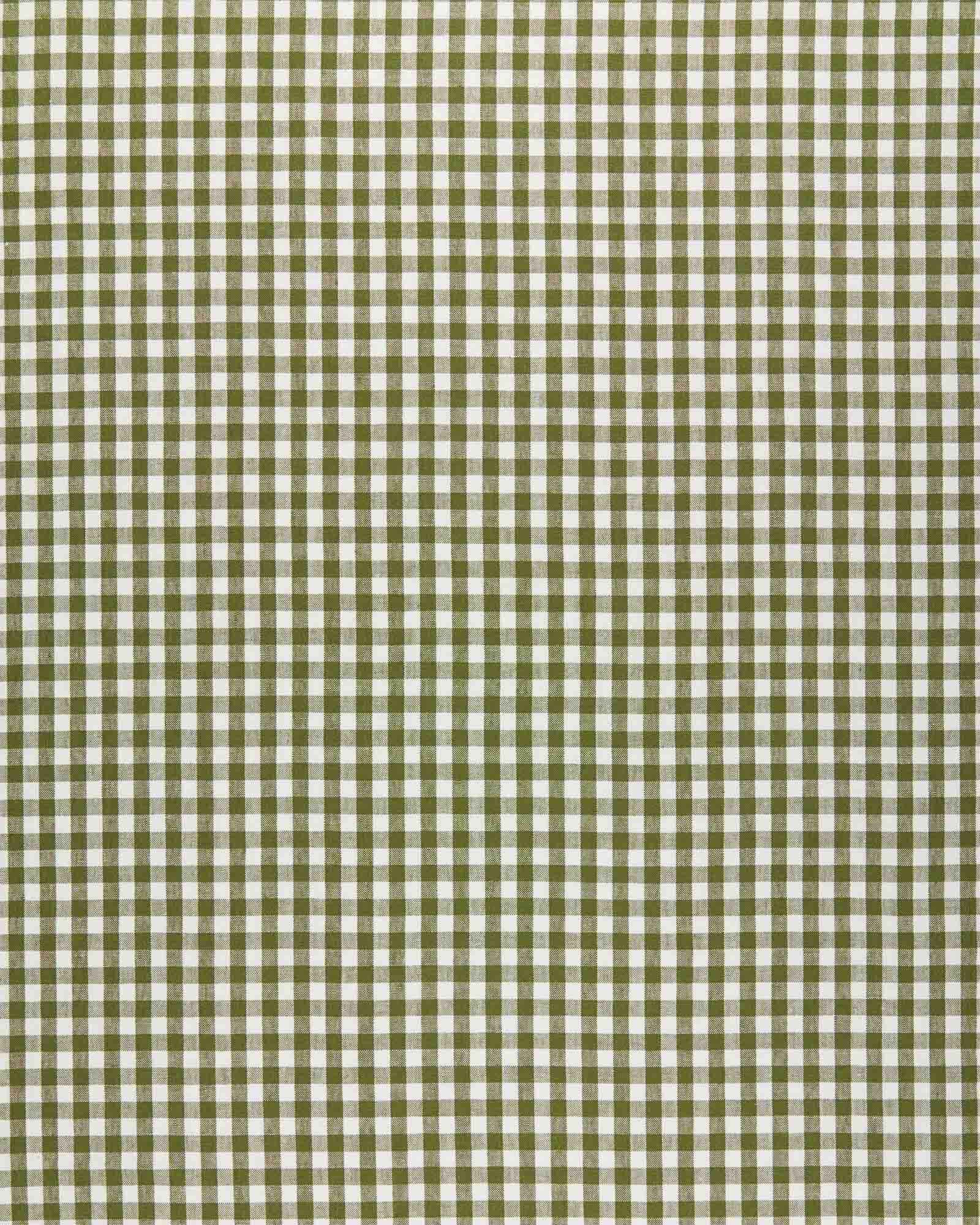 Fabric by the Yard - Petite Gingham Linen, Grove