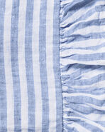 Nantucket Stripe Sheeting Swatch,