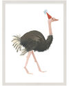 """""""Party Animals - Ostrich"""" by Fours Are Yellow,"""