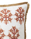 Morningside Pillow Cover, Wild Rose/Terracotta