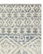 Adelaide Hand-knotted Rug Swatch, Coastal Blue
