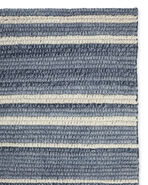 Sea Stripe Rug Swatch,