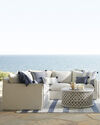 Sundial Outdoor Slipcovered Sectional - Right-Facing,