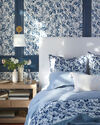 Cavallo Linen Duvet Cover, Blue Chambray