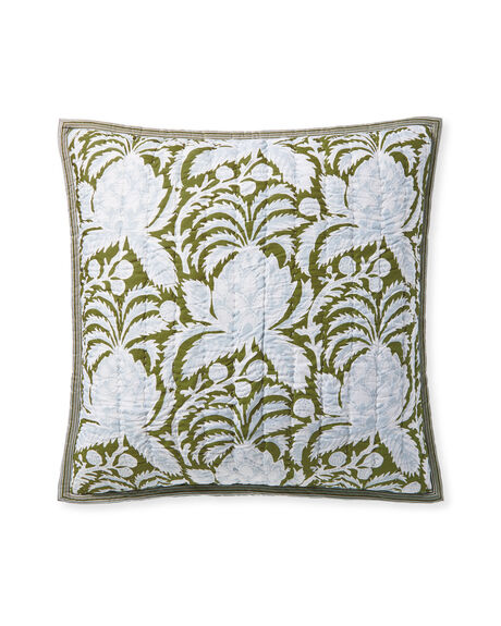 Artichoke Quilted Shams