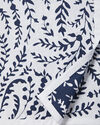 Priano Bedding Swatch, Navy