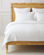Montauk Coverlet, White