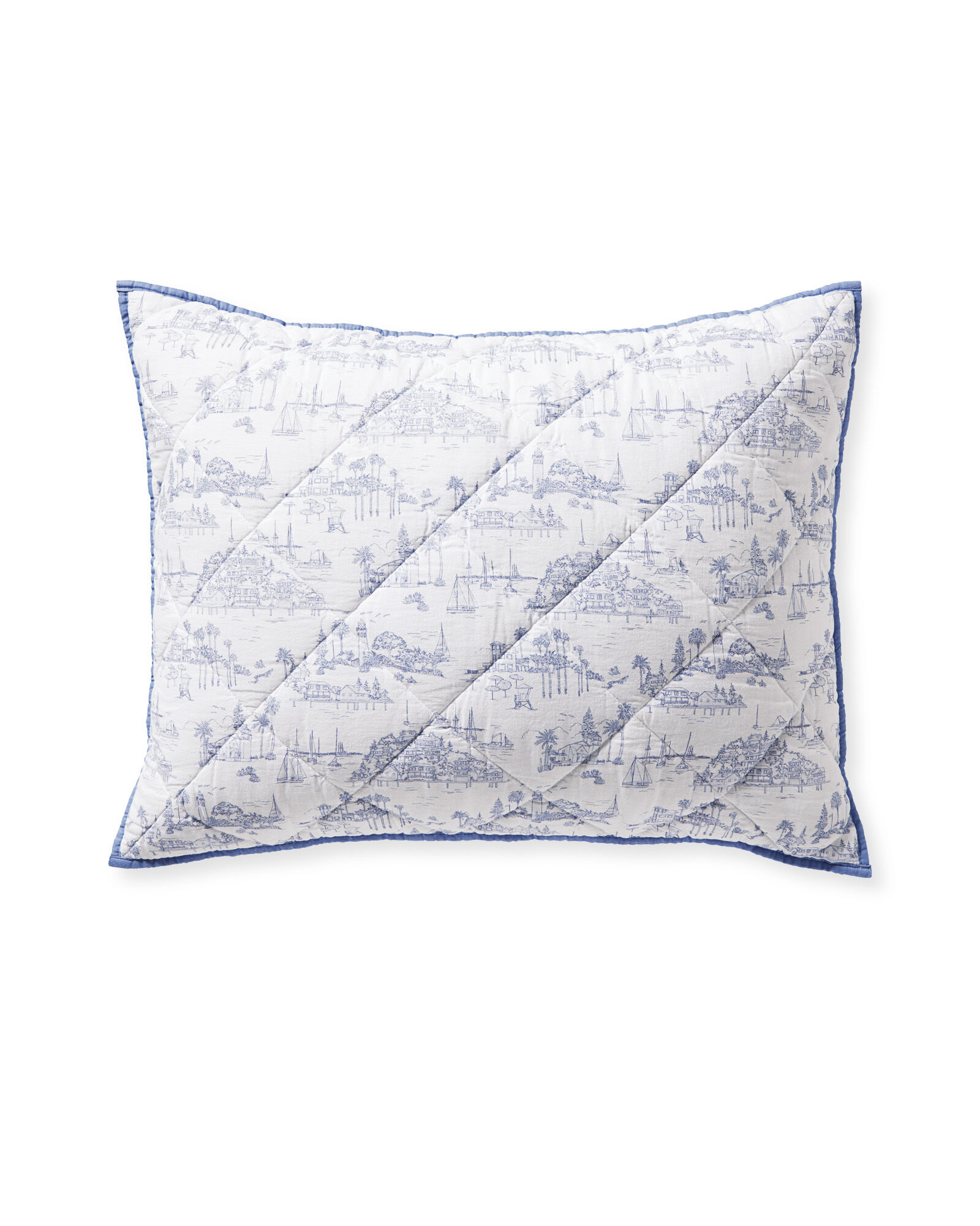 Seahaven Shams, French Blue