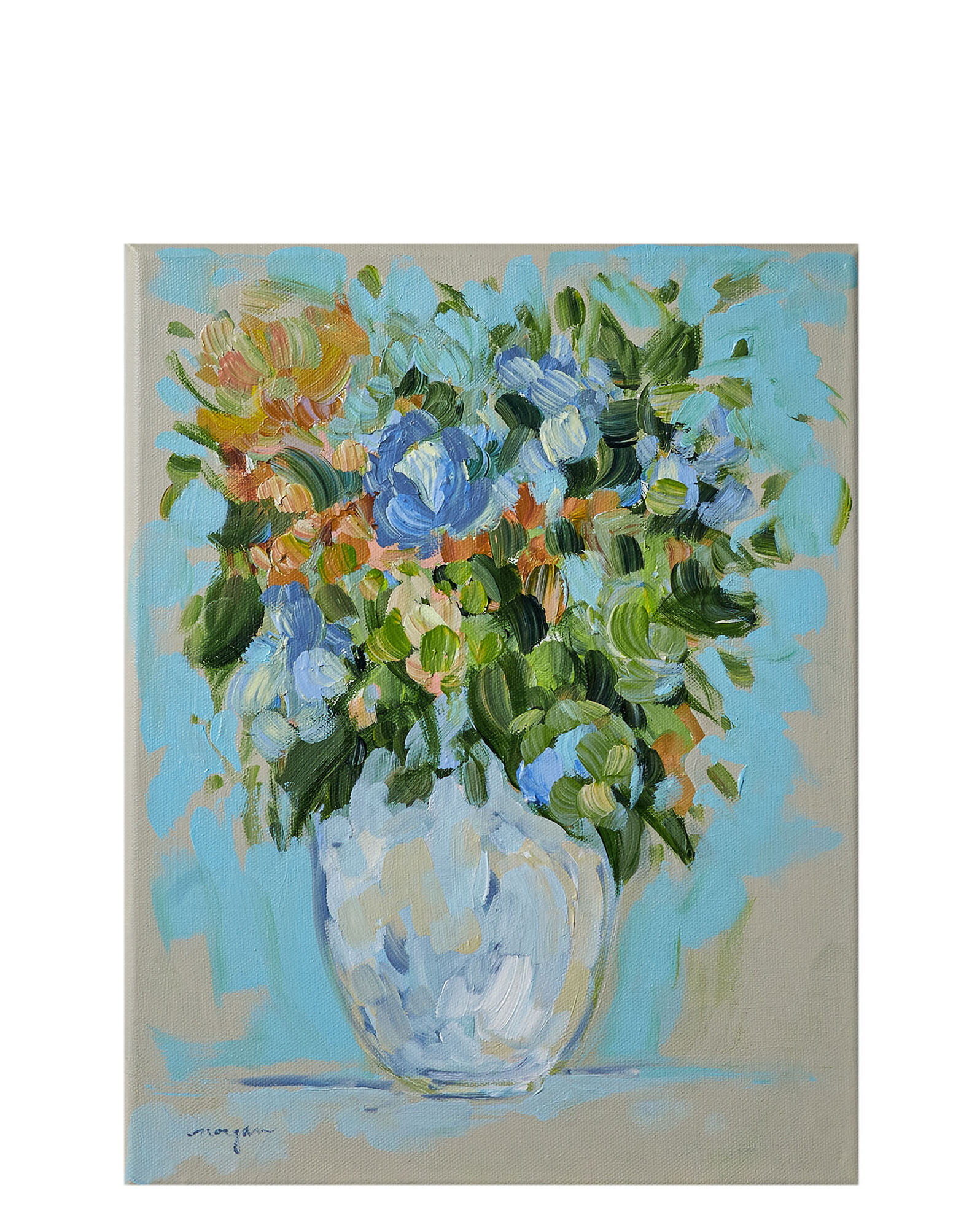 """""""You Can Always Have Flowers on the Table 10"""" by Morgan Jones Johnston,"""