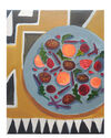 Winter Salad on the Rug by Claire Elliott,