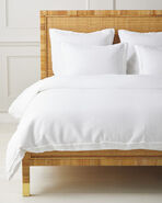 Mar Vista Matelassé Duvet Cover, White