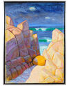 """Coastal Rocks & Waves"" by Frederick Pomeroy,"