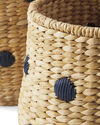 Dot Basket, Navy