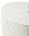 Bayville Side Table, White