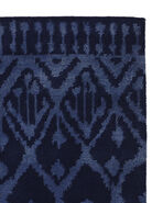 Milan Hand-Knotted Rug Swatch, Navy