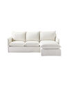 Sundial Outdoor Slipcovered Chaise Sectional - Right-Facing,
