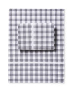 Gingham Sheet Set, Smoke