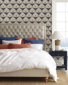 Tall Fulton Tufted Bed,